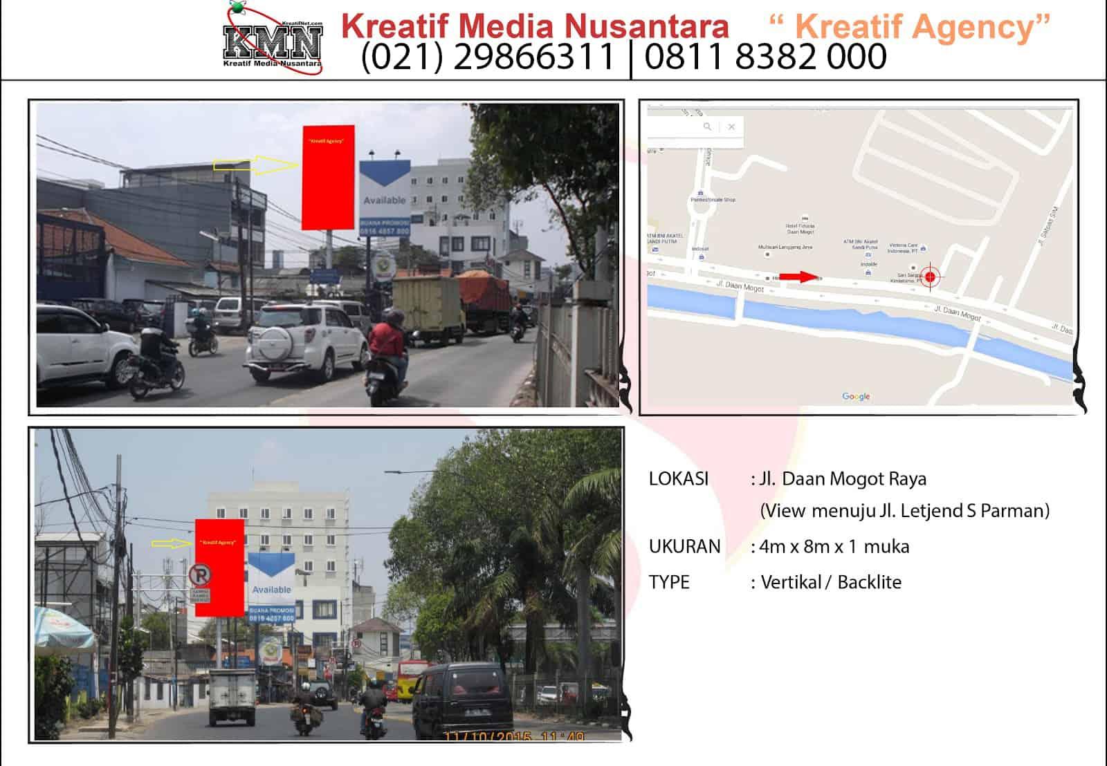 Billboard Daan Mogot (Jelambar) Jakarta
