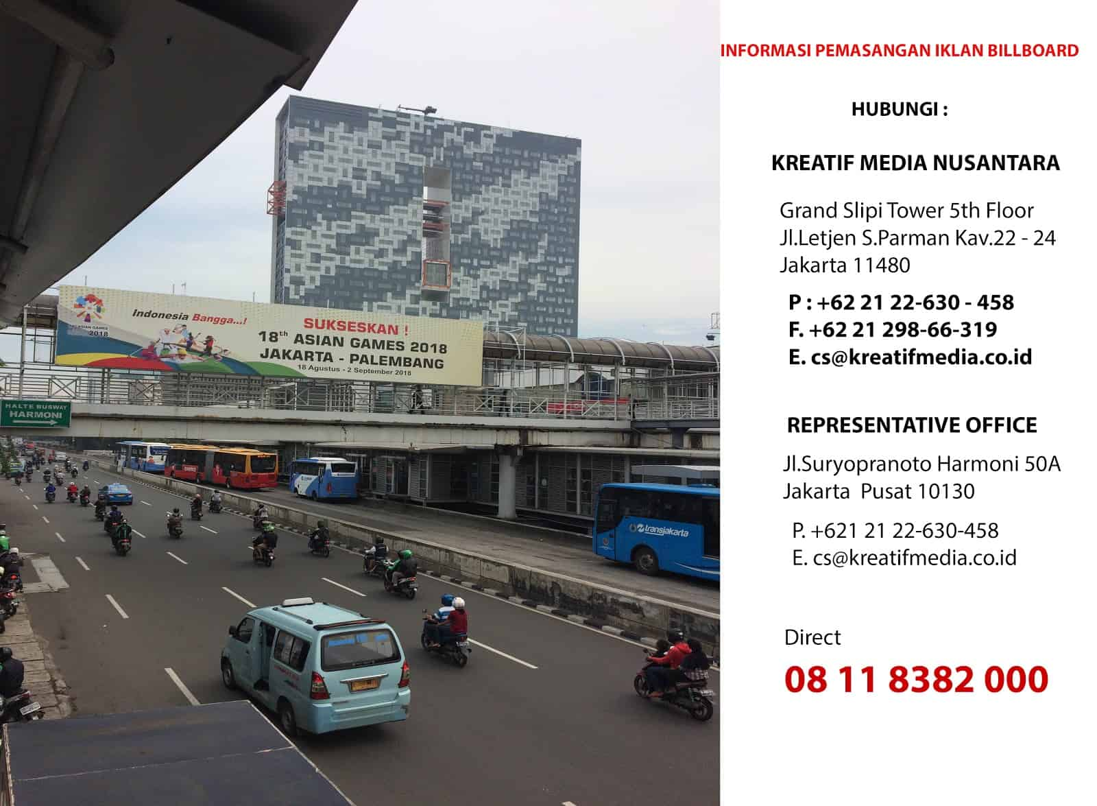 Pasang Iklan Billboard Jakarta