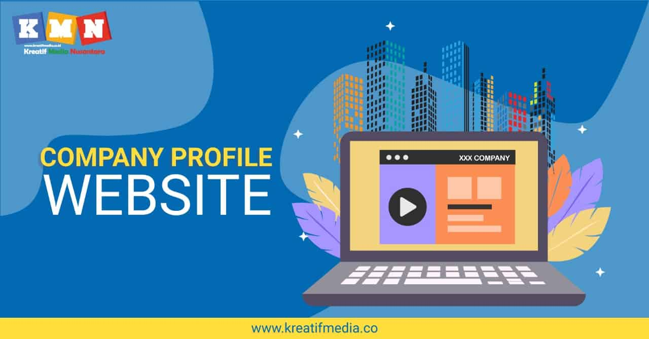 website company profile perusahaan